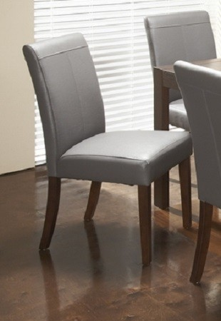 leather kitchen chairs ikea accent chair roberto grey dining modern toronto by inspired home decor interiors
