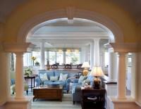 Oceanfront Estate - Traditional - Living Room - Boston ...