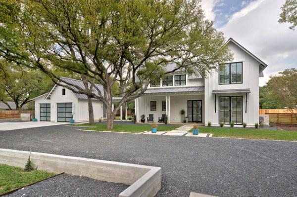 texas contemporary - farmhouse