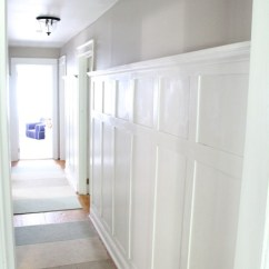 Kitchen Swivel Chairs Cabinets Showroom Hallway Paneling - Traditional Hall New York By ...