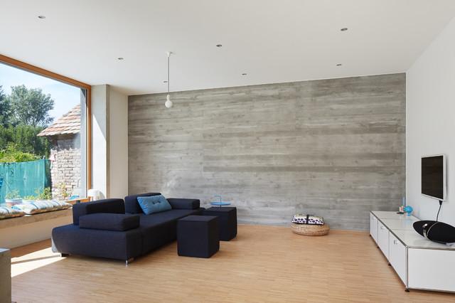 Im Wohnbereich  Modern  Wohnzimmer  Berlin  von architectoo