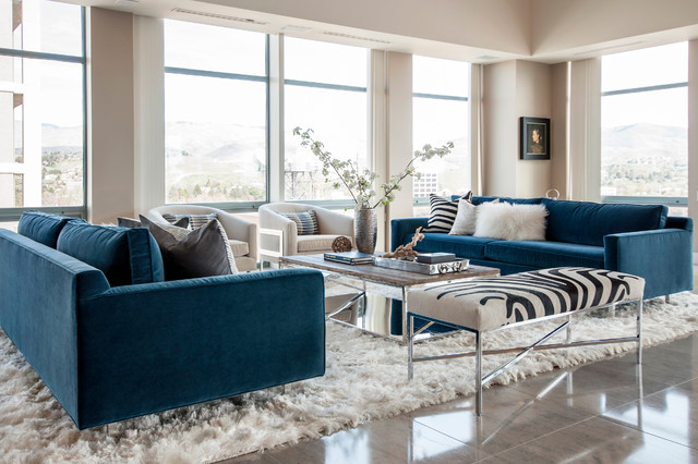 mitchell gold chairs koken barber chair for sale downtown penthouse - transitional living room boise by judith balis interiors