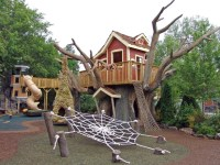 Elevated Tree house and Lighthouse Playground ...