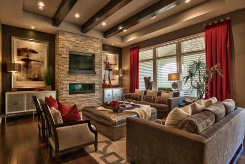Photo By Falcone Hybner Design, Inc. U2013 Discover Living Room Design  Inspiration