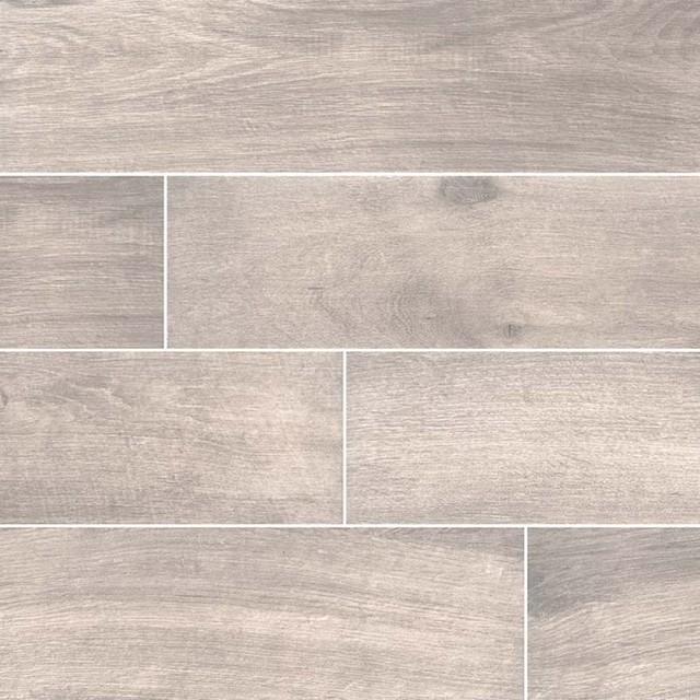 cottage smoke 8x48 matte wood look porcelain tile sample