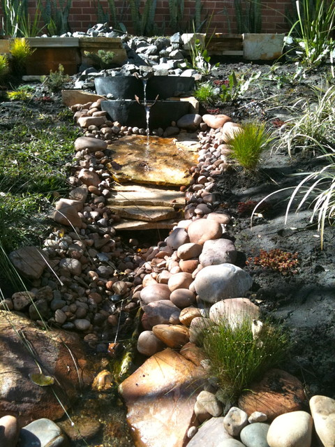 natural stream water feature