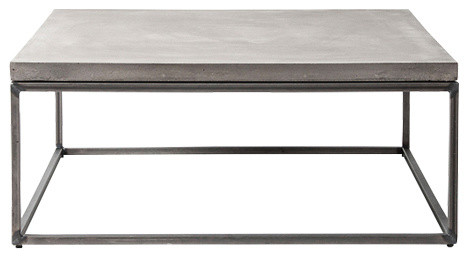 perspective square coffee table large