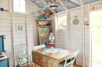 Shed Turned Guest Space - Shabby-chic Style - Garden Shed ...