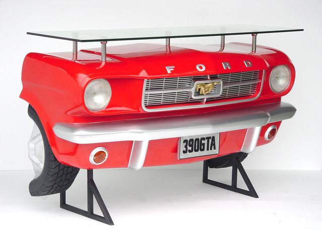 Ford Mustang Car Bar Shelf