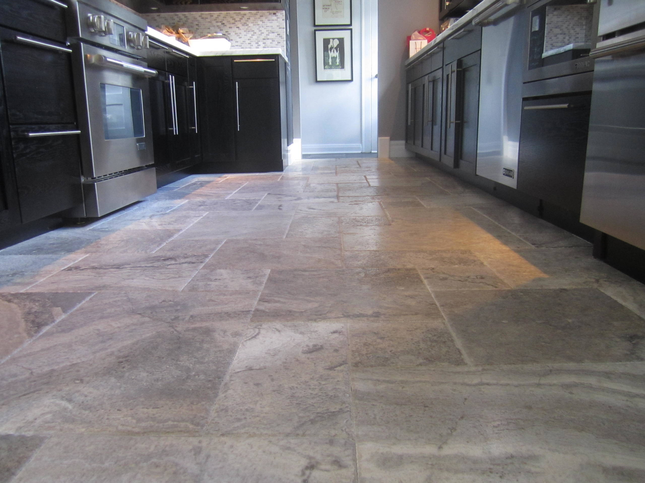 travertine kitchen floor houzz