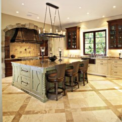 Miami Kitchen Cabinets Design Your Own Traditional With Large Island - Rustic ...