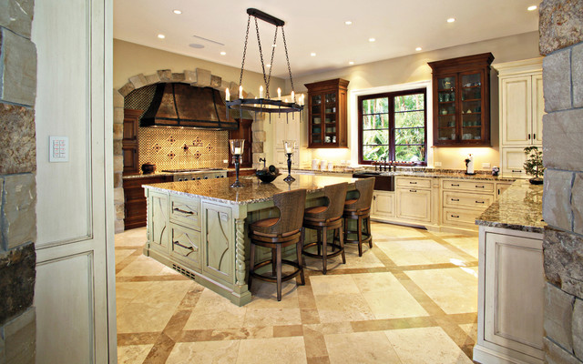 kitchen island outlet sinks traditional with large - rustic ...
