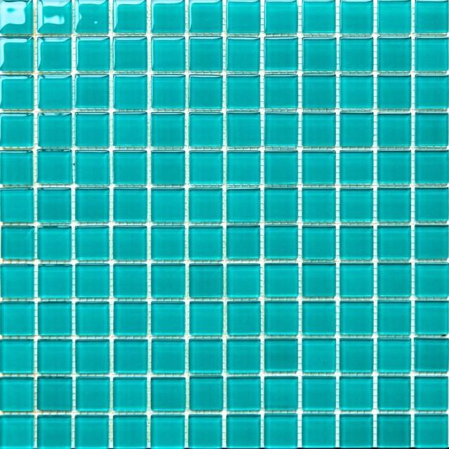 pool tile lagoon blue green glass mosaic