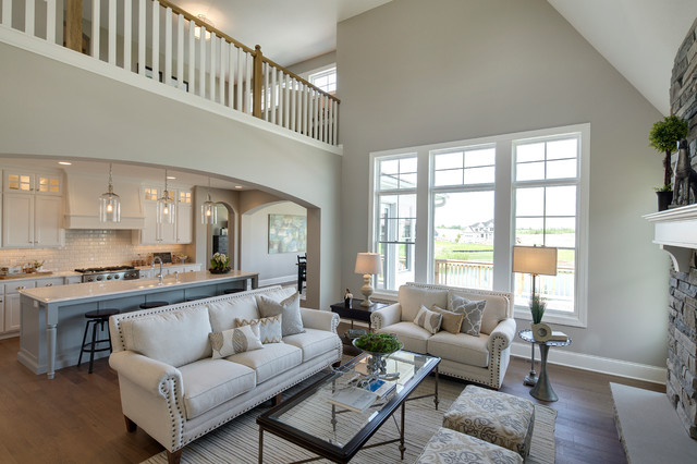 New Haven Model  2015 Spring Parade of Homes  Living