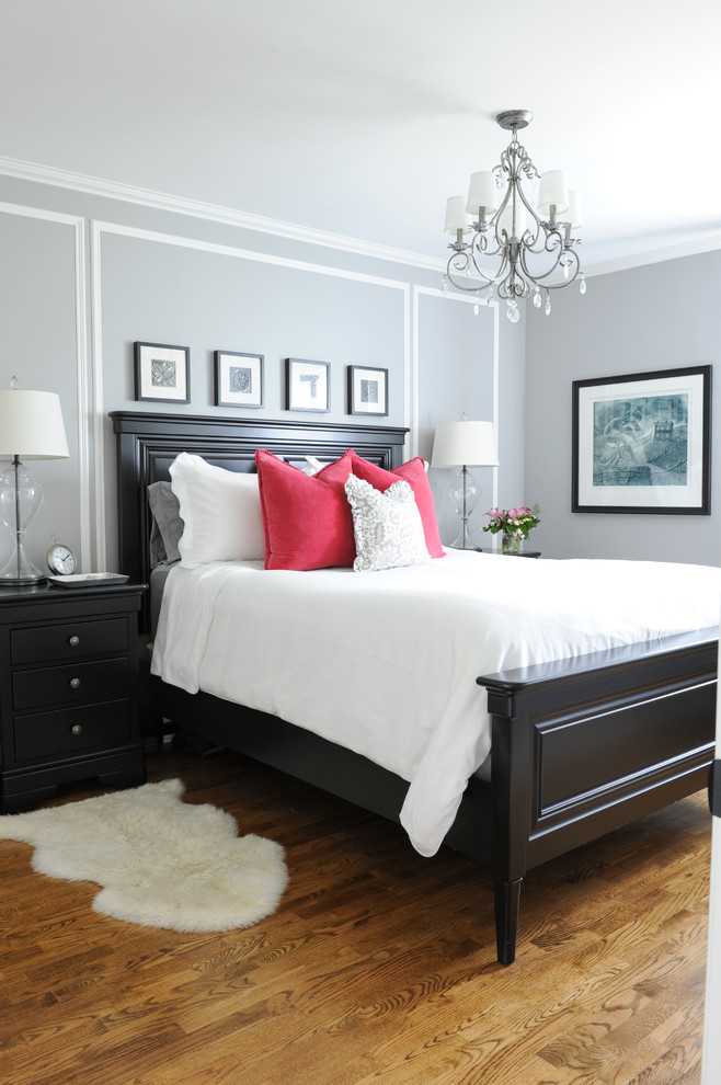 His And Hers Master Bedroom Traditional Bedroom Vancouver By Simply Home Decorating