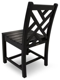 Eco-friendly Side Chair in Black - Set of 2 - Contemporary ...