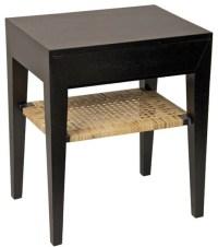 Muse Julia Mahogany Wood Side Table - Tropical - Side ...