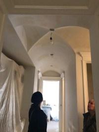Lighting for Barrel Vault Ceiling