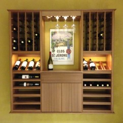 Assembled Kitchen Cabinets Bosch Package Select Series 'wall Install' Modular Wine ...