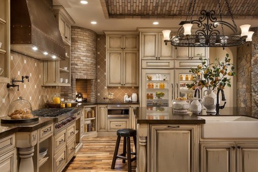Southwestern Ranch Traditional Kitchen