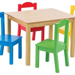 Tables And Chairs Aqua Accent Chair Tot Tutors Primary Focus Wood Table Set Transitional Kids By Humble Crew Inc Dba