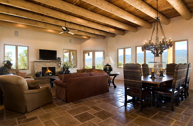 living room ideas with dark grey sofas crypton canada a new territorial style home in monte sereno santa fe, nm