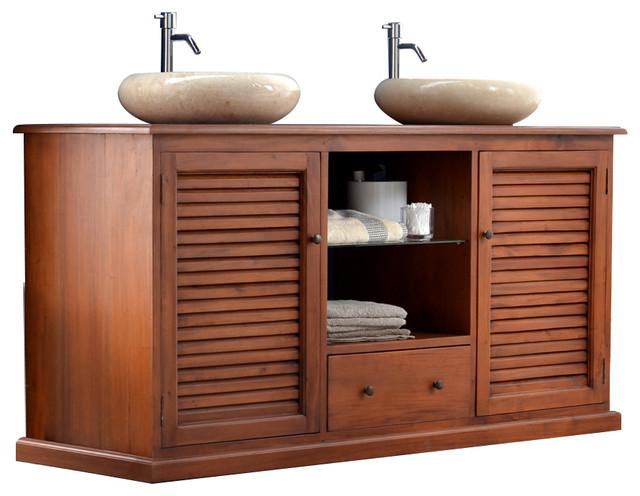 meuble sous vasque bois exotique sia meuble sous lavabo bambou with meuble sous vasque bois. Black Bedroom Furniture Sets. Home Design Ideas