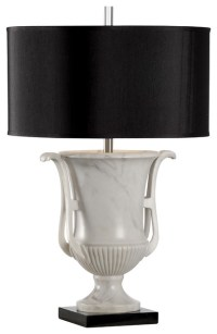 Frederick Cooper Etruscan Black Shade Urn Lamp 66847