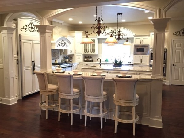 french colonial kitchen design French Colonial Kitchen & Bath - Victorian - Kitchen