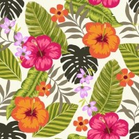 Tropical Fiesta, Wallpaper Tiles