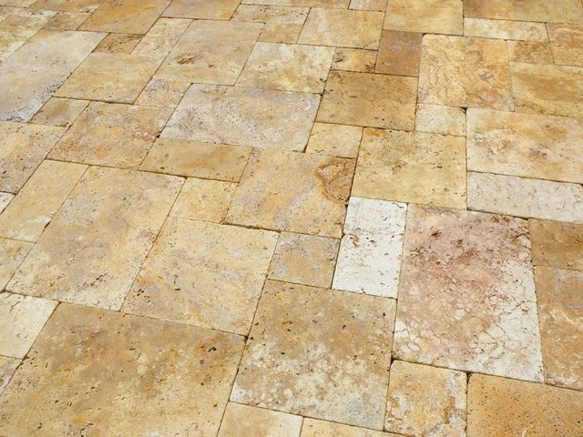 Waller Gold French Pattern Deck Contemporary Tampa