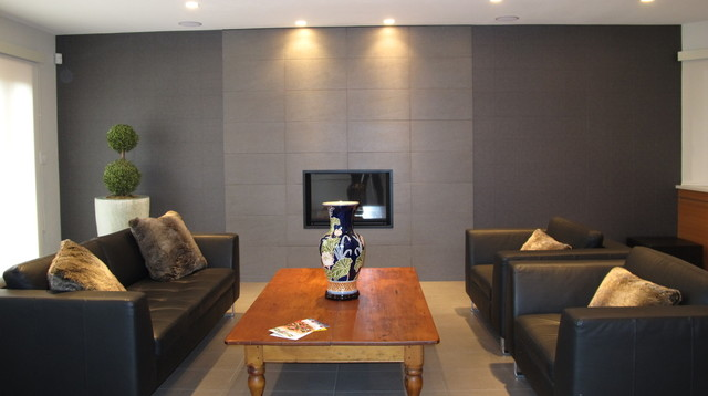 Reception Room in Shaugnessey Home  Contemporary  Living