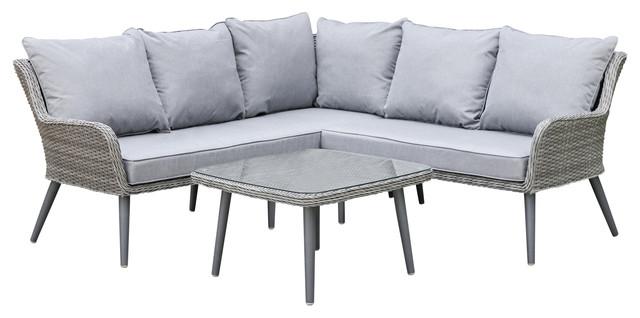 maze rattan natural milan corner sofa set green cushions navy blue tufted velvet florence outdoor rustic garden sofas by