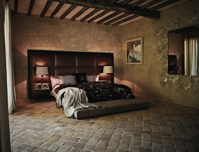 Mediterranean Antique Terracotta Floor Tiles
