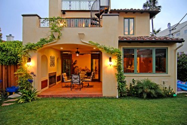 exterior spanish colonial revival mediterranean structure los angeles st