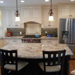 Kitchen Island Chandeliers 2 Hole Faucet Elegant White | Dark Mocha - Traditional ...
