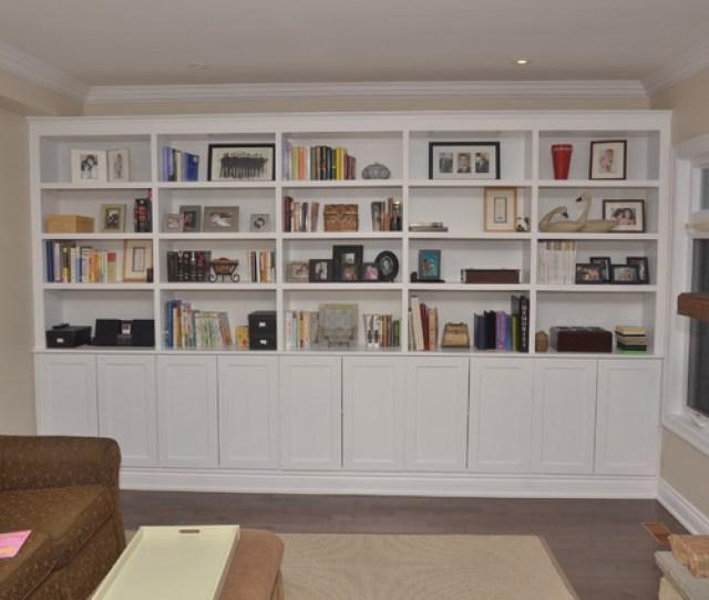 Richmond Hill Living Room Storage Unit Traditional Living Room