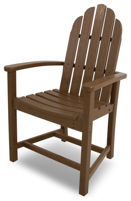 polywood classic adirondack chair baby soft dining contemporary chairs by frontera furniture