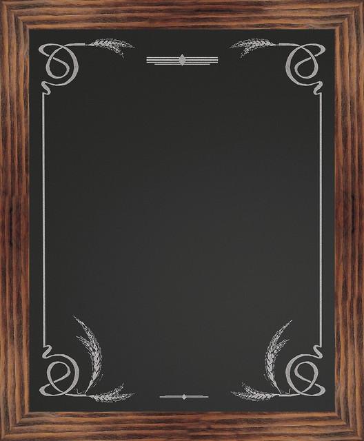 wheat border chalkboard