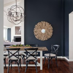 Suede Dining Table Chairs Navy Blue Desk Chair Dark Walls? Bring Out Their Best With These Perfect Pairings