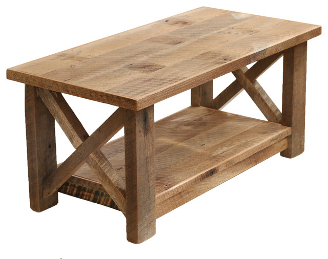 Farmhouse Coffee Table X Made From Reclaimed Wood Farmhouse Coffee Tables By Grindstone Design