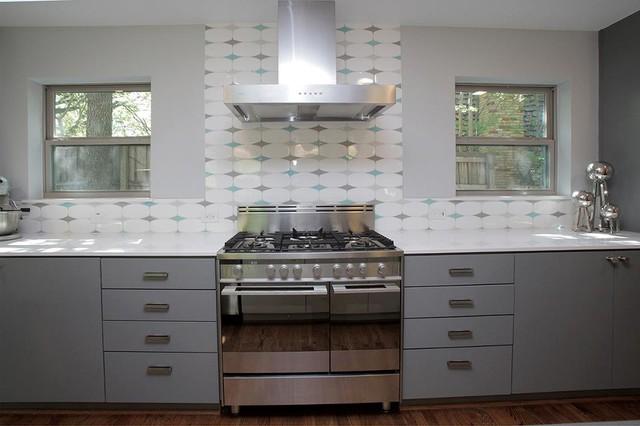 Mid Century Modern In White Rock Modern Kitchen