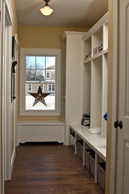 Interior Decor Plants Mudroom Lockers And Storage Bench - Craftsman - Hall