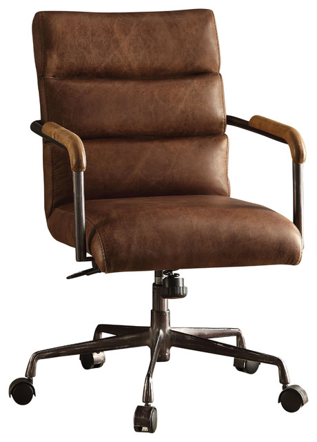 Antonio Leather Executive Office Chair  Industrial