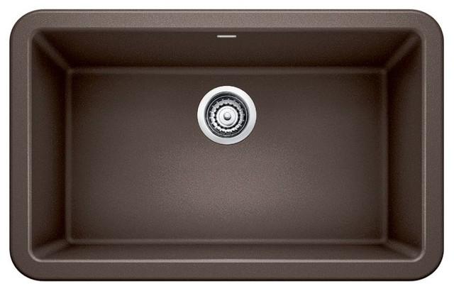 blanco ikon silgranit 30 apron front kitchen sink cafe brown