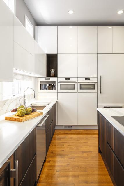 Contemporary Glass Kitchen Design  Astro Design Ottawa