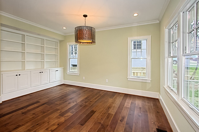 Custom Dark Stained Hickory Flooring  Traditional  Bedroom  Other  by Mountain Lumber Company