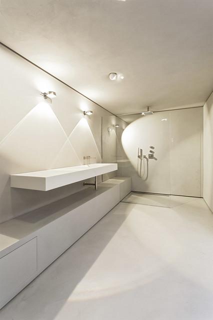Startseite Design Bilder – Modern Fugenloses Badezimmer Malermeister ...