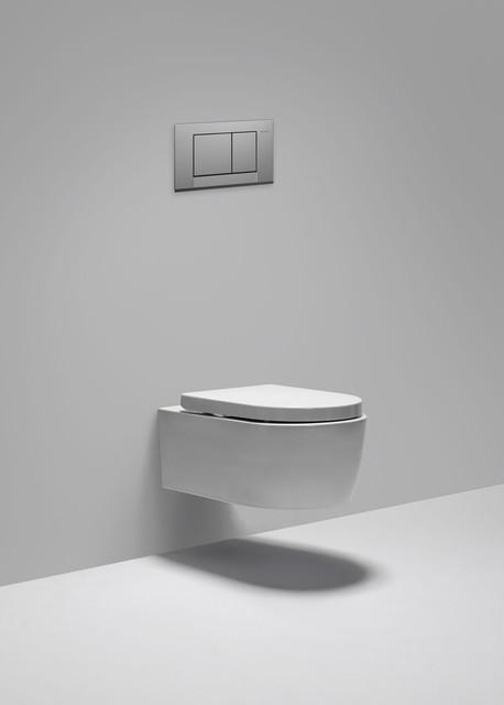 metrix dual flush 0816 G wallmount toilet  Modern  Toilets  Vancouver  by Blu Bathworks