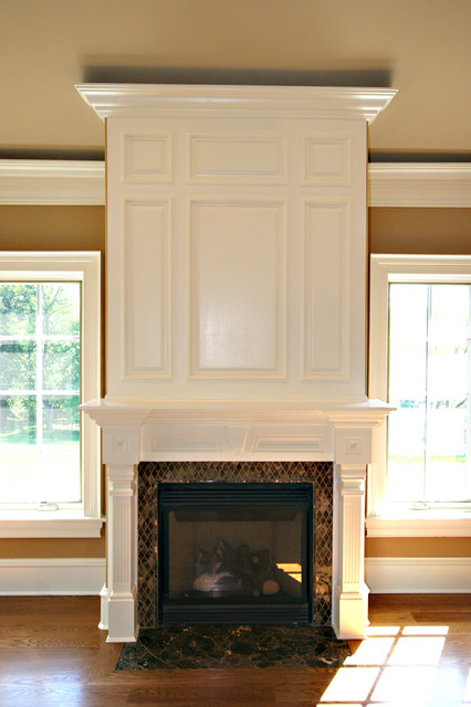 Custom Fireplace mantles buildins  New York  by Trim Team NJ